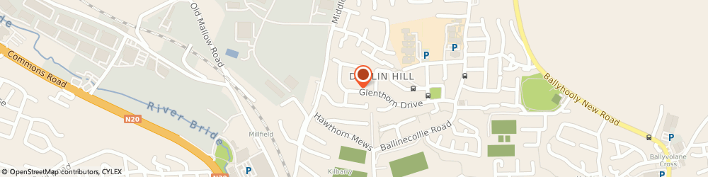 Route/map/directions to PRESENTATION BINDING LIMITED,  Cork, Kilbarry Ida Business Park, Dublin Hill