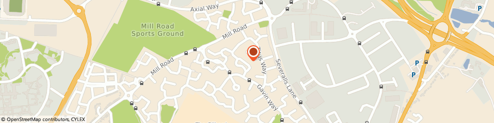 Route/map/directions to J n General Plumbing & Bathroom Specialist, CO4 9WW Colchester, 21 Lucius Crescent