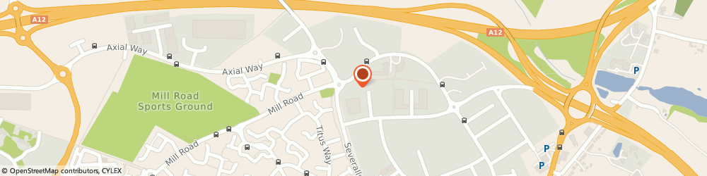 Route/map/directions to TMB Group, CO4 9RA Colchester, Kings Court, 9-10 Newcomen Way
