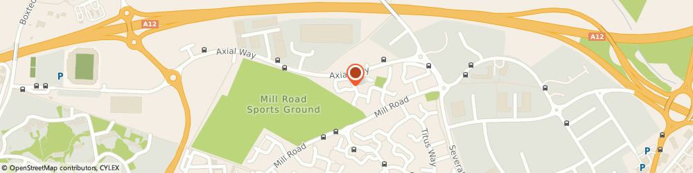 Route/map/directions to Inc Investigations Limited, CO4 5ZN Colchester, 1 KIRK WAY