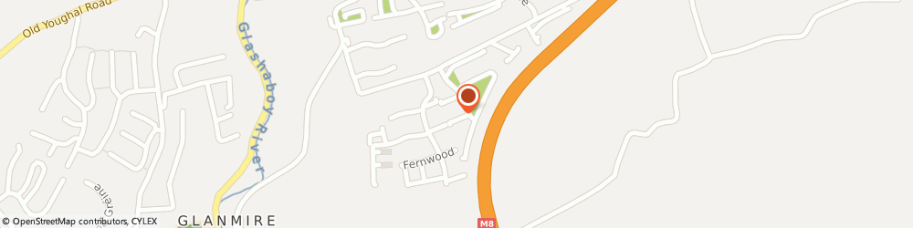 Route/map/directions to PALADIN ENGINEERING LIMITED, T45 Glanmire, 25 Chestnut Meadows, Glyntown