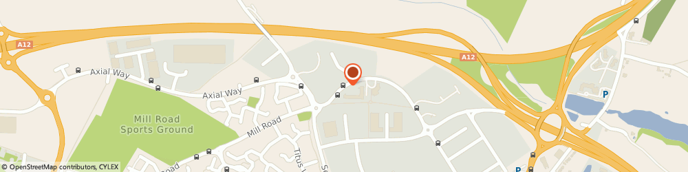 Route/map/directions to Beechwood Audi, CO4 9YQ Colchester, 770 The Crescent