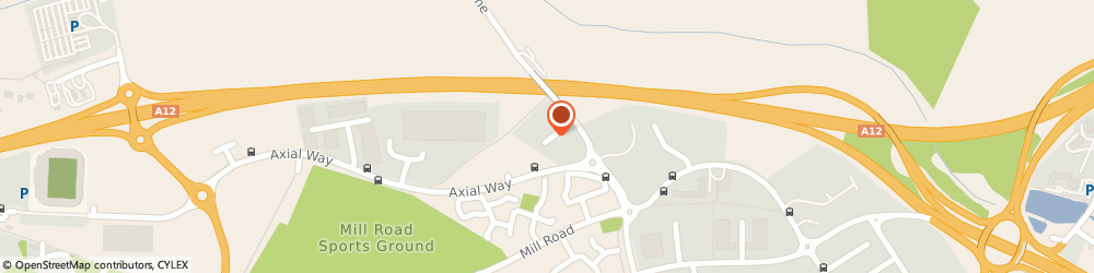 Route/map/directions to Mr Daniel Carter The Point Osteopathic Clinic, CO4 5YQ Colchester, 1 De Grey Square, De Grey Road