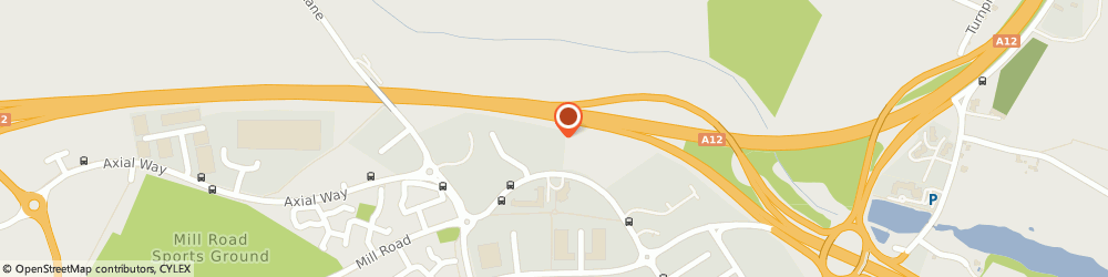 Route/map/directions to Thermix uk ltd, CO4 9AD Colchester, North Colchester Business Centre, 340 The Crescent