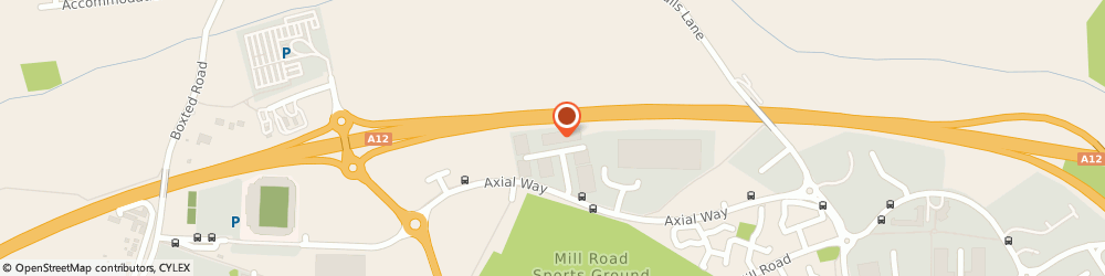 Route/map/directions to Designer Sunglasses Ltd, CO4 5WY Colchester, UNIT 2, EASTER PARK, AXIAL WAY
