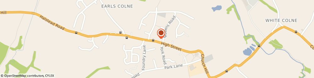 Route/map/directions to Royal Mail, CO6 4JG Colchester, 19 High Street