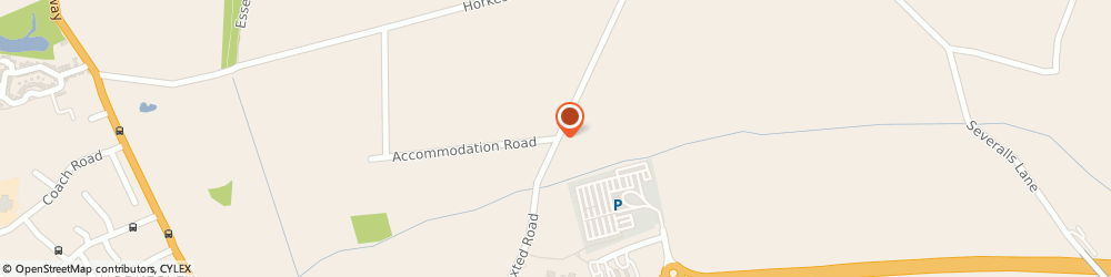 Route/map/directions to Carisma Body Tech Ltd, CO4 5HH Colchester, Boxted Road