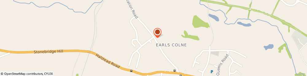Route/map/directions to Colne House, CO6 2LT Colchester, Station Road, Earls Colne