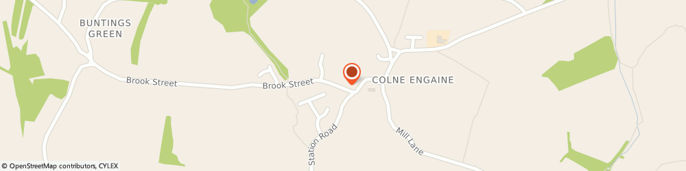 Route/map/directions to Totallybowen, CO6 2EU Colchester, Willow Cottage, Brook Street