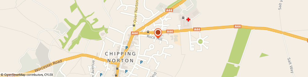 Route/map/directions to Dial A Van Oxon Ltd, OX7 5BA Chipping Norton, 20 Rock Hill
