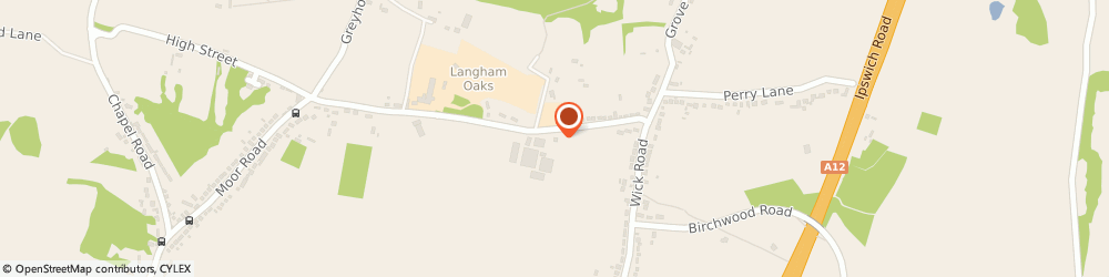 Route/map/directions to GBH Motorsport, CO4 5PB Colchester, Unit 7, School Farm, School Road