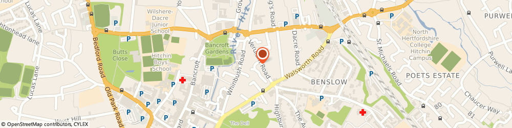 Route/map/directions to Mac & Sons Driveway Cleaning (Hitchin) Ltd, SG5 1QN Hitchin, 2 CONVENT CLOSE