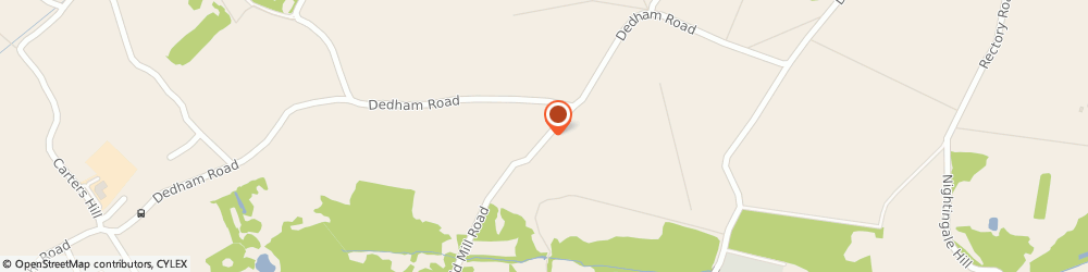 Route/map/directions to Mr Richard Kemp Langham Osteopathic and Physiotherapy Clinic, CO4 5NX Langham, Old Mill Road