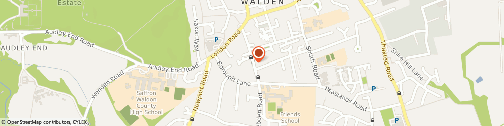 Route/map/directions to Woodside Capital Partners UK Llp, CB11 4AB Saffron Walden, 52 Debden Road