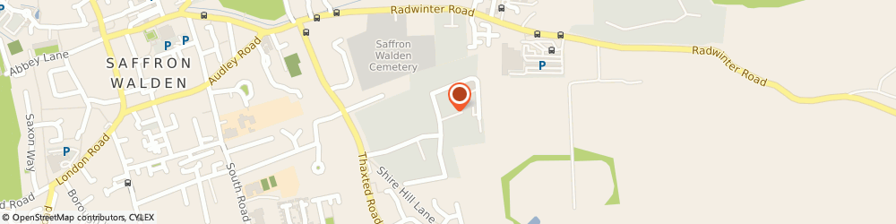 Route/map/directions to The Thaxted Vets Ltd, CB11 3AJ Saffron Walden, 2 Medina Business Centre