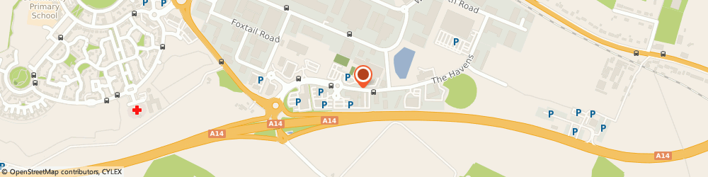 Route/map/directions to H.B. Commercial (Property) Limited, IP3 9BF Ipswich, 6 The Havens, Ransomes Europark