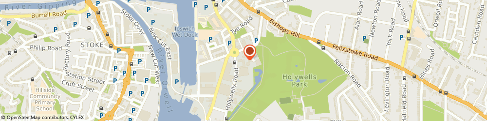 Route/map/directions to Flood & French Ltd, IP3 0DL Ipswich, Holywells Rd, Unit 2, Holywells Retail Centre