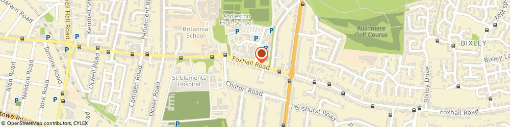 Route/map/directions to Linda Shipton School of Dancing, IP4 5HD Ipswich, Foxhall Rd