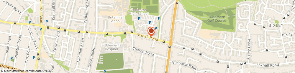 Route/map/directions to Paediatric Speech Therapy (Suffolk), IP3 8LX Ipswich, ST. HELENS HOUSE, 571 FOXHALL ROAD