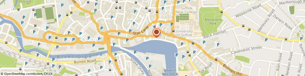 Route/map/directions to Ashtons Legal, IP4 1AS Ipswich, 1A Wherry Quay, Waterfront House