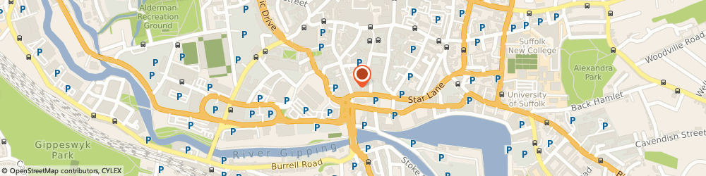 Route/map/directions to Seven Asset Management, IP1 1XF Ipswich, Cardinal Court, 35-37 St Peter's St