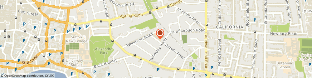 Route/map/directions to Stagecoach Performing Arts Schools Ipswich, IP4 1PJ Ipswich, Clifford Road