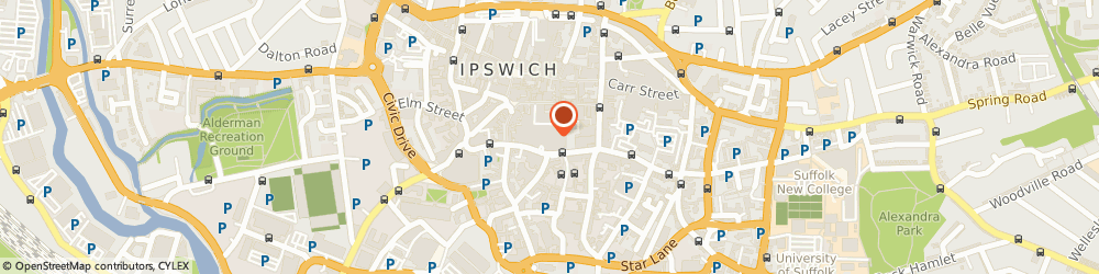Route/map/directions to New Look, IP1 1SL Ipswich, Lru2, Buttermarket Centre