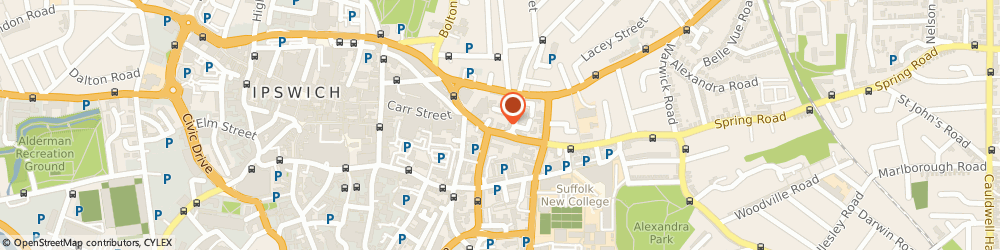 Route/map/directions to Riddell Croft & Co. Solicitors, IP4 1HH Ipswich, 25-27 St. Helens Street