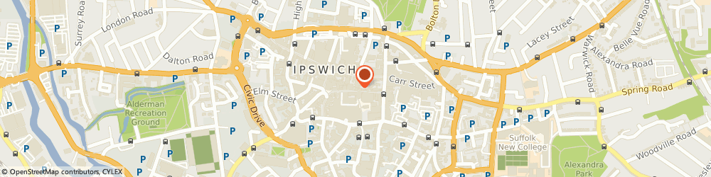 Route/map/directions to Sharps Bedrooms, IP1 1BQ Ipswich, 23-23A Butter Market