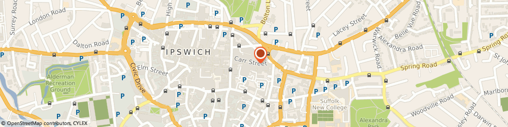 Route/map/directions to BrightHouse Ipswich, IP4 1EW Ipswich, 44 Carr Street