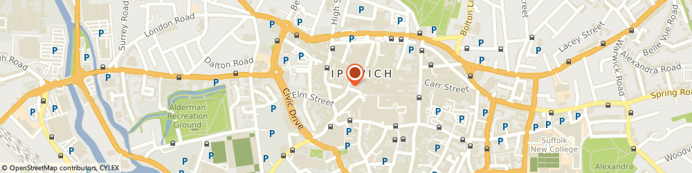 Route/map/directions to Blocks Solicitors, IP1 1EL Ipswich, 2-6 Arcade St