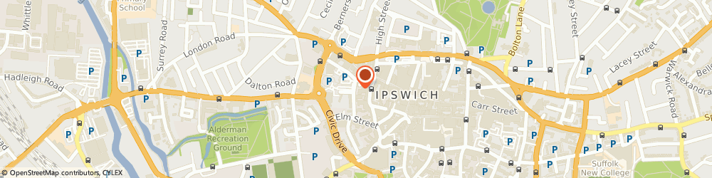 Route/map/directions to Downey & Warren, IP1 2EF Ipswich, 5 Black Horse Lane