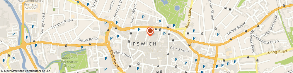 Route/map/directions to Ipswich Estate Agents, IP1 3HT Ipswich, Lloyds Avenue
