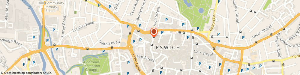 Route/map/directions to Moben Dolphin Sharp, IP1 3ED Ipswich, 40 Westgate St