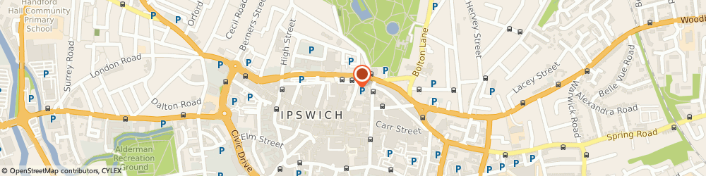 Route/map/directions to Jackson-Stops Estate Agents - Ipswich office, IP1 3BE Ipswich, 15 Tower Street