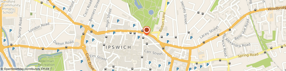 Route/map/directions to Jackmans Solicitors Ipswich, IP1 3BX Ipswich, Oak House, 7 Northgate Street