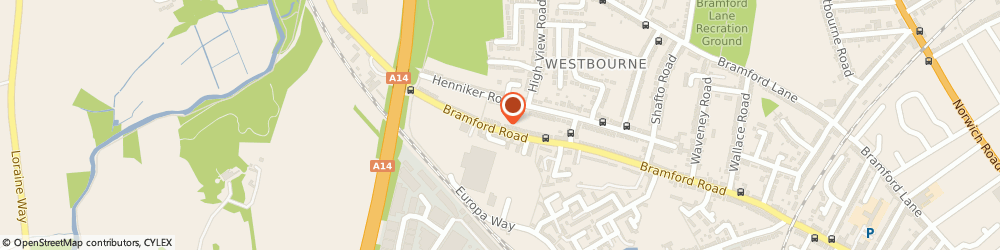 Route/map/directions to Pro Pressure Clean Services, IP1 5BQ Ipswich, 634 Bramford Rd