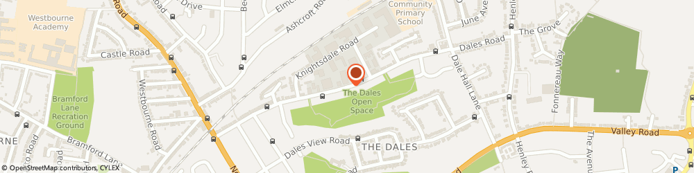 Route/map/directions to The KBB Centre, IP1 4JR Ipswich, 2, 85 Dales Rd