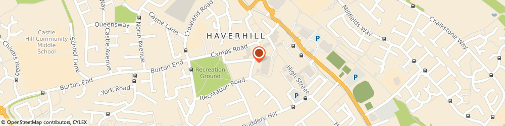Route/map/directions to fortuna garden Chinese Restaurant, CB9 8BD Haverhill, 11 Mill Road