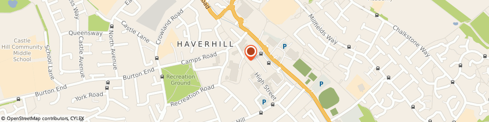 Route/map/directions to Euronics- Chapman & Son Haverhill, CB9 8AX Haverhill, 10 High Street