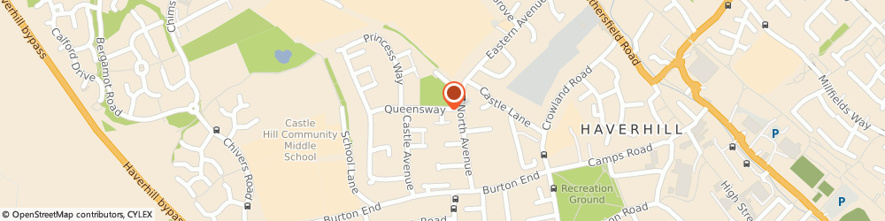 Route/map/directions to Hong Kong Chef Chinese Take Away, CB9 9DG Haverhill, 6 Queensway