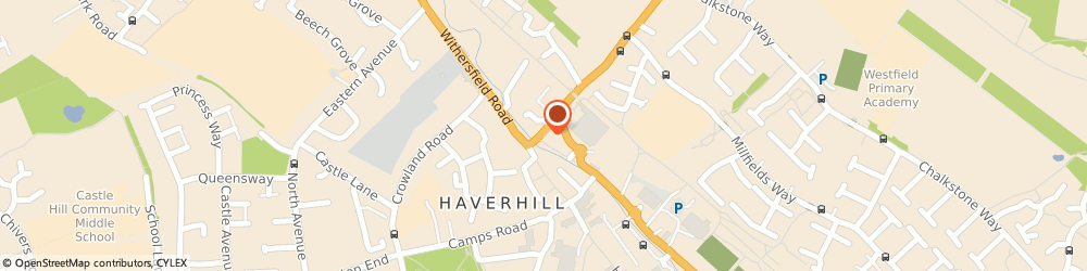 Route/map/directions to China Inn, CB9 0EU Haverhill, 2  Station Road