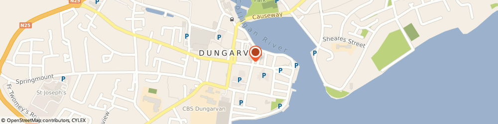 Route/map/directions to Dealz,  Dungarvan, 53 Main St