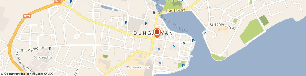 Route/map/directions to Hidden Hearing -,  Dungarvan, 38 Grattan Square