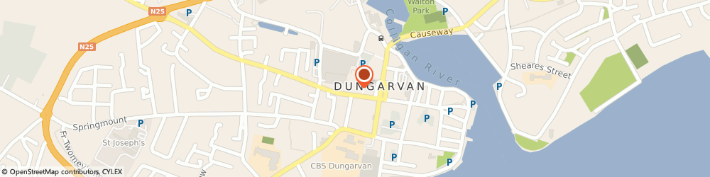 Route/map/directions to Dreoilin Glass,  Waterford, UNIT 5&6 DUNGARVAN BUSINESS PK. DUNGARVAN