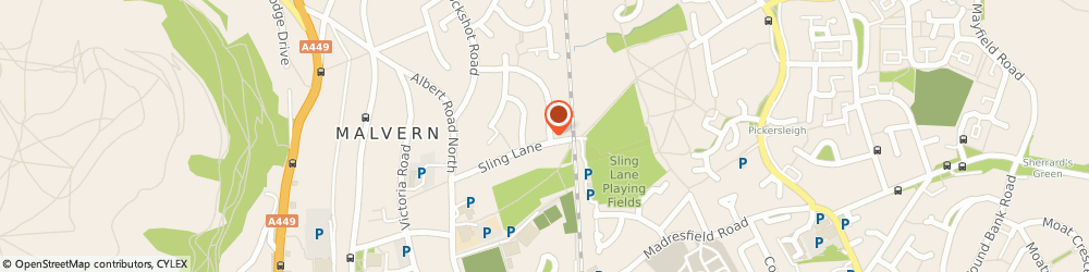 Route/map/directions to Drive Pave Direct, WR14 2TX Malvern, 44, Clerkenwell Crescent