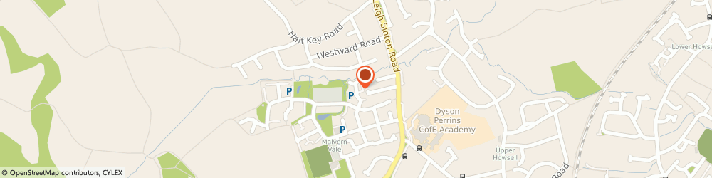 Route/map/directions to T J Conservatory Solutions, WR14 1BN Malvern, 16 Fern Drive