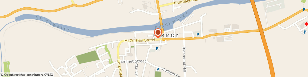 Route/map/directions to Guitar Shop The,  Cork, 20 Mccurtain St