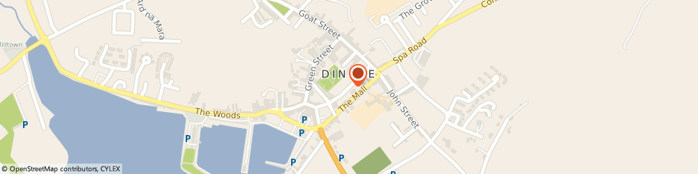 Route/map/directions to DINGLE MUSIC SCHOOL,  Kerry, Dykegate Lane