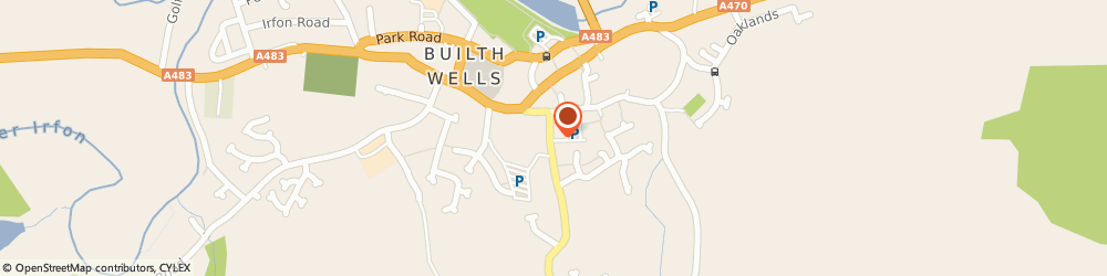 Route/map/directions to Co-op Food BUILTH WELLS, LD2 3ED Builth Wells, 10 Brecon Road